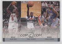 Jalen Rose, Chris Webber, Juwan Howard /500