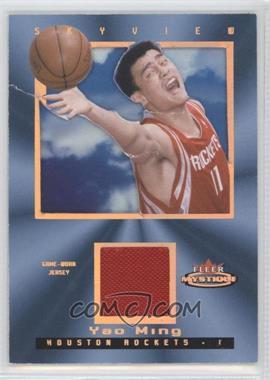2003-04 Fleer Mystique Skyview Parallel 150 Jersey #SV-YM - Yao Ming /150