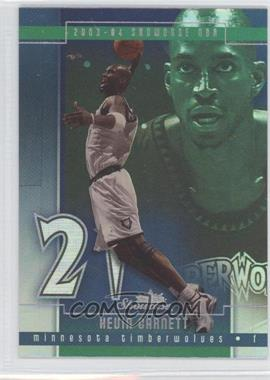 2003-04 Fleer Showcase #88 - Kevin Garnett