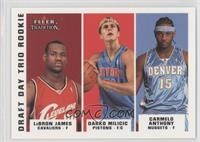 Lebron James, Carmelo Anthony /375