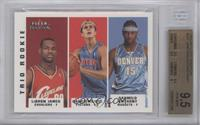 Lebron James, Carmelo Anthony, Darko Milicic [BGS 9.5]