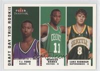 T.J. Ford, Maceo Baston, Luke Ridnour /375