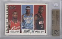 Lebron James, Carmelo Anthony, Dwyane Wade /375 [BGS 9.5]