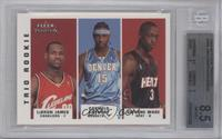 Lebron James, Carmelo Anthony, Dwyane Wade [BGS 8.5]