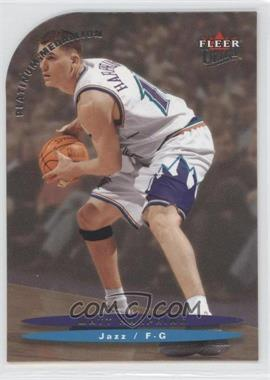 2003-04 Fleer Ultra - [Base] - Platinum Medallion #47 - Matt Harpring /100