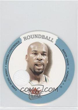 2003-04 Fleer Ultra Roundball Jersey #D-BD - Baron Davis