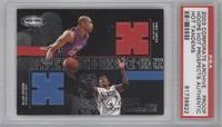 Vince Carter, Allen Iverson [PSA AUTHENTIC]