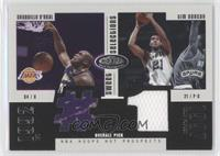 Shaquille O'Neal, Tim Duncan /375