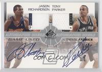 Jason Richardson, Tony Parker /50