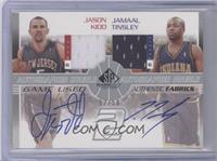 Jamaal Tinsley, Jason Kidd /50