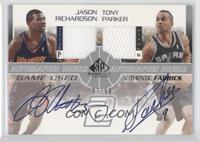 Jason Richardson, Tony Parker /50