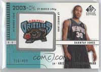 Dahntay Jones /499