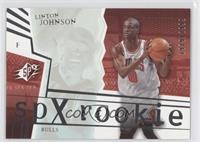 Linton Johnson /2999