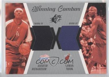 2003-04 SPx - Winning Combos #WC25 - Quentin Richardson, Lamar Odom