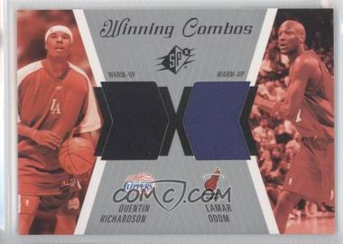 2003-04 SPx Winning Combos #WC25 - Quentin Richardson, Lamar Odom