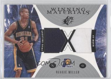 2003-04 SPx Winning Materials #WM10 - Reggie Miller