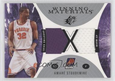 2003-04 SPx Winning Materials #WM36 - Amar'e Stoudemire