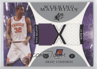 2003-04 SPx Winning Materials #WM36 - Amar'e Stoudemire