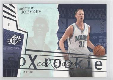 2003-04 SPx #138 - Britton Johnsen /2999