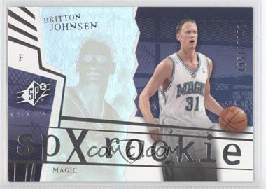 2003-04 SPx #138 - Britton Johnsen /2999