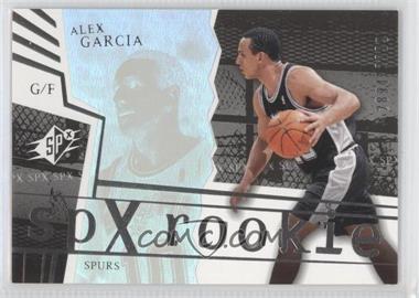 2003-04 SPx #150 - Alex Garcia /2999