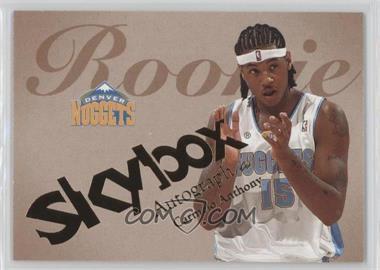 2003-04 Skybox Autographics - [Base] #55 - Carmelo Anthony /1500