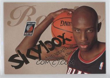 2003-04 Skybox Autographics - [Base] #82 - Travis Outlaw /1500