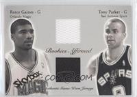 Reece Gaines, Tony Parker /500