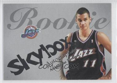 2003-04 Skybox Autographics Insignia #57 - Aleksandar Pavlovic /150