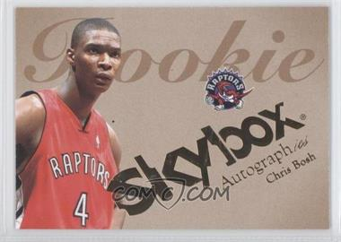2003-04 Skybox Autographics #54 - Chris Bosh /1500