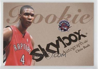 2003-04 Skybox Autographics #54 - Chris Bosh /1500