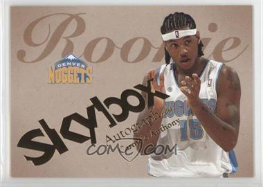 2003-04 Skybox Autographics #55 - Carmelo Anthony /1500