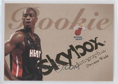 2003-04 Skybox Autographics #75 - Dwyane Wade /1500
