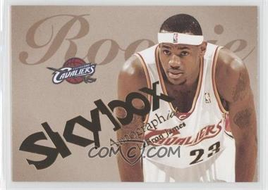 2003-04 Skybox Autographics #77 - Lebron James /1500