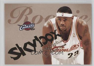 2003-04 Skybox Autographics #77 - Lebron James /1500