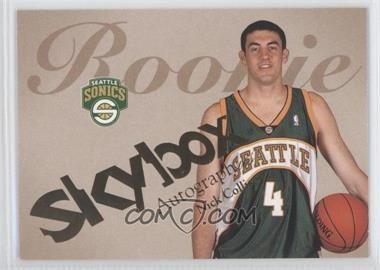 2003-04 Skybox Autographics #79 - Nick Collison /1500
