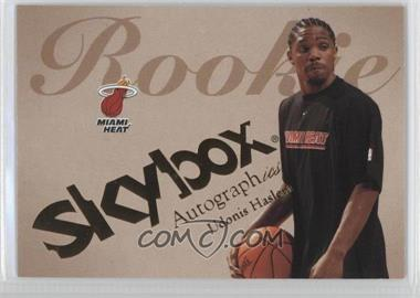 2003-04 Skybox Autographics #81 - Udonis Haslem /1500