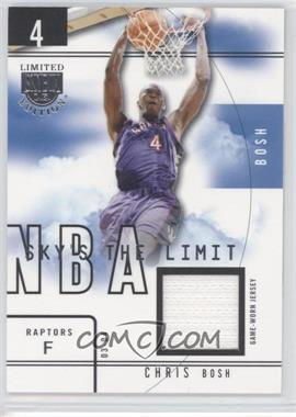 2003-04 Skybox Limited Edition - Sky's the Limit - Game-Used #SL-CB - Chris Bosh /99