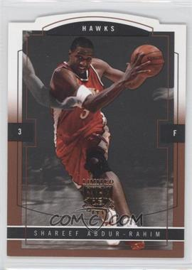 2003-04 Skybox Limited Edition Photographer Proof [Autographed] #104 - Shareef Abdur-Rahim /25