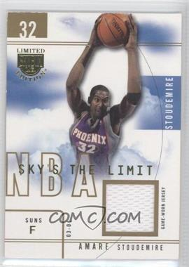 2003-04 Skybox Limited Edition Sky's the Limit Parallel 10 Jersey #SL-AS - Amar'e Stoudemire /10