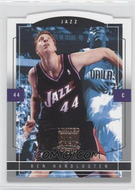2003-04 Skybox Limited Edition #126 - Ben Handlogten /399