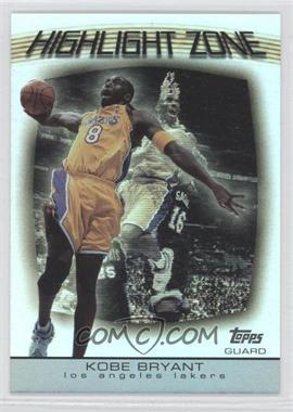 2003-04 Topps - Highlight Zone #HZ-20 - Kobe Bryant