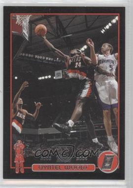 2003-04 Topps Black #119 - Qyntel Woods /500