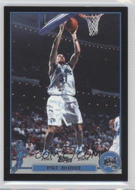 2003-04 Topps Black #136 - Pat Burke /500