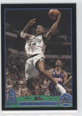 2003-04 Topps Black #138 - Anthony Peeler /500