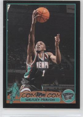 2003-04 Topps Black #167 - Wesley Person /500