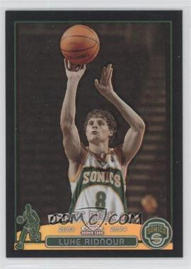 2003-04 Topps Chrome Black Refractor #124 - Luke Ridnour /500