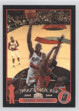 2003-04 Topps Chrome Black Refractor #133 - Travis Outlaw /500