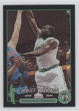 2003-04 Topps Chrome Black Refractor #137 - Kendrick Perkins /500