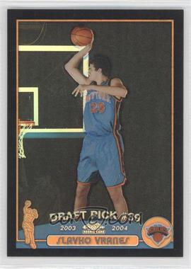 2003-04 Topps Chrome Black Refractor #146.2 - Slavko Vranes (Serbian Language) /500